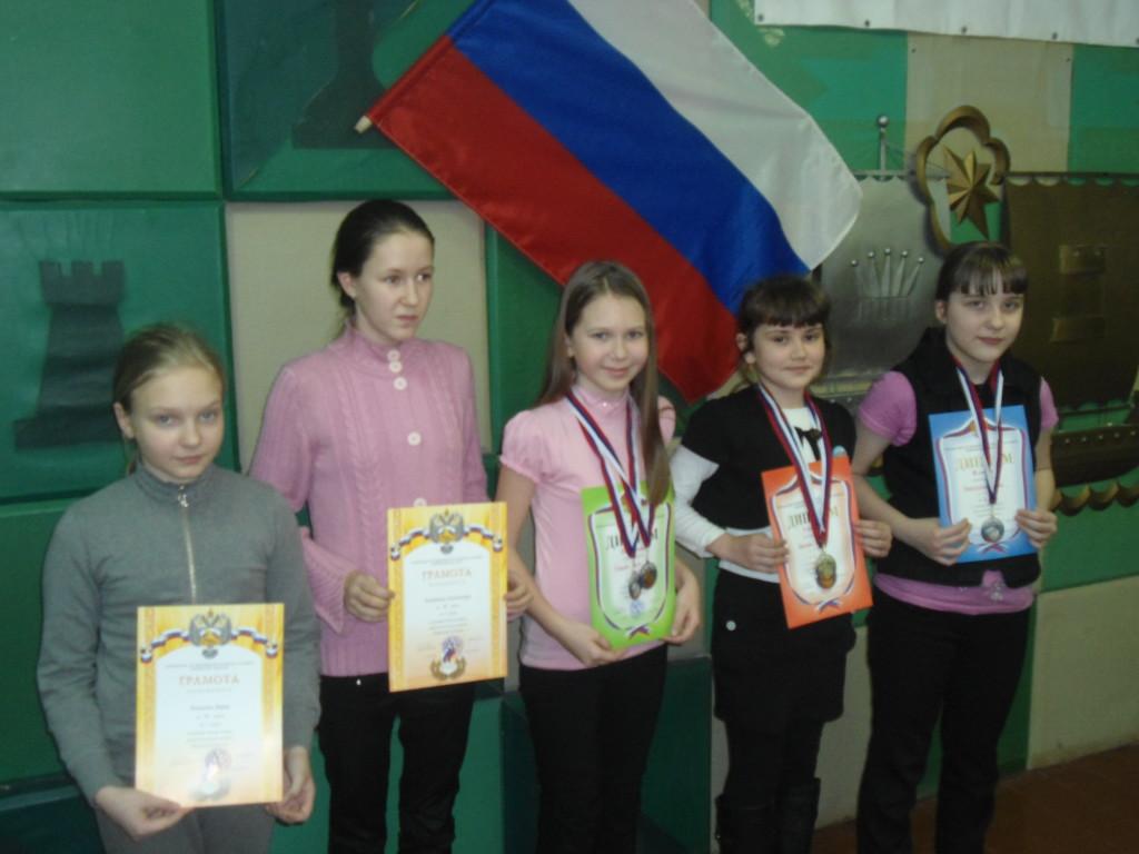 Настя - 3 место