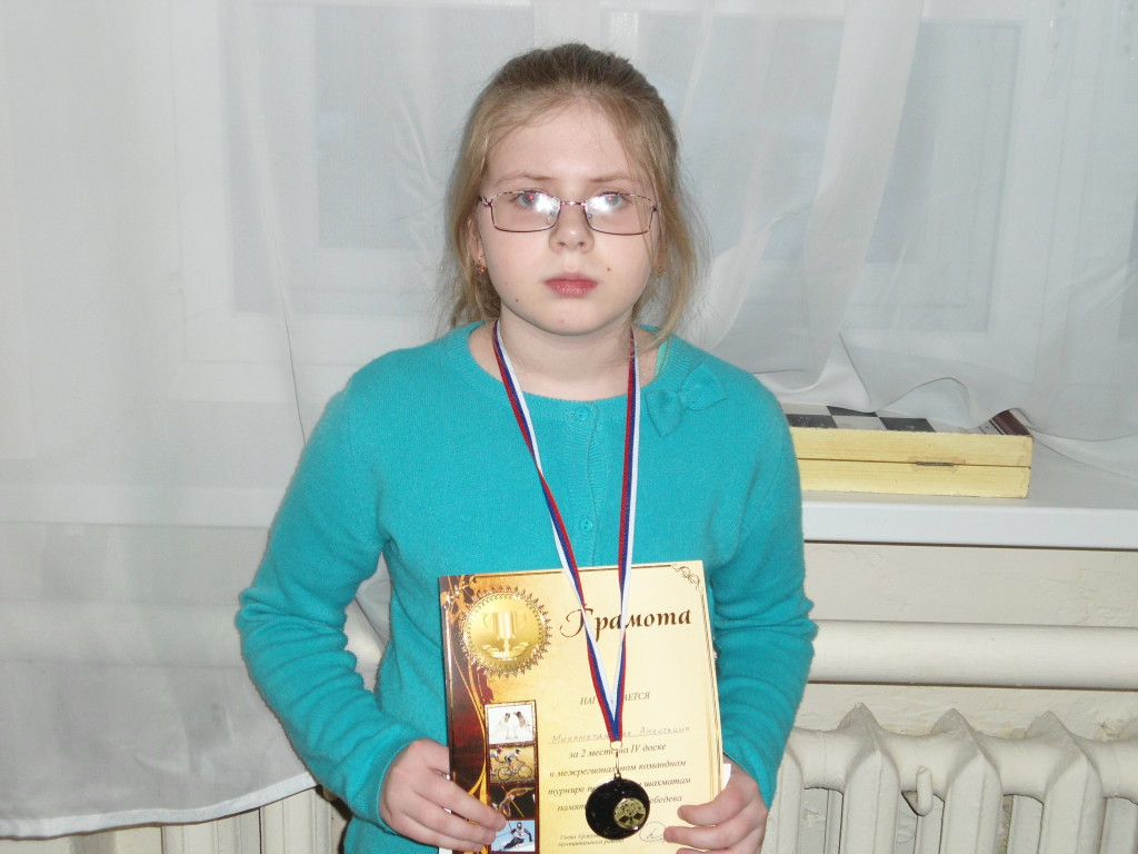 Настя - 2 место