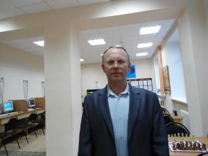 Назаров П.А. в шахматном клубе